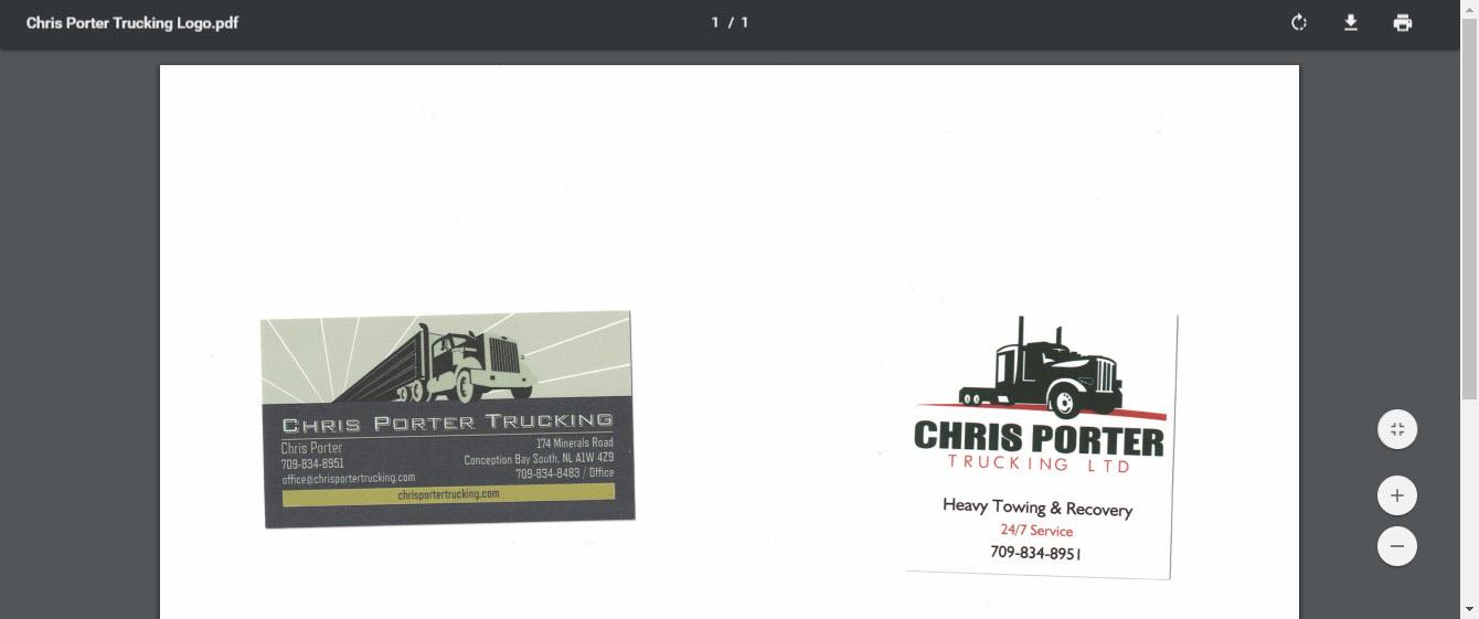 Chris Porter Trucking Ltd