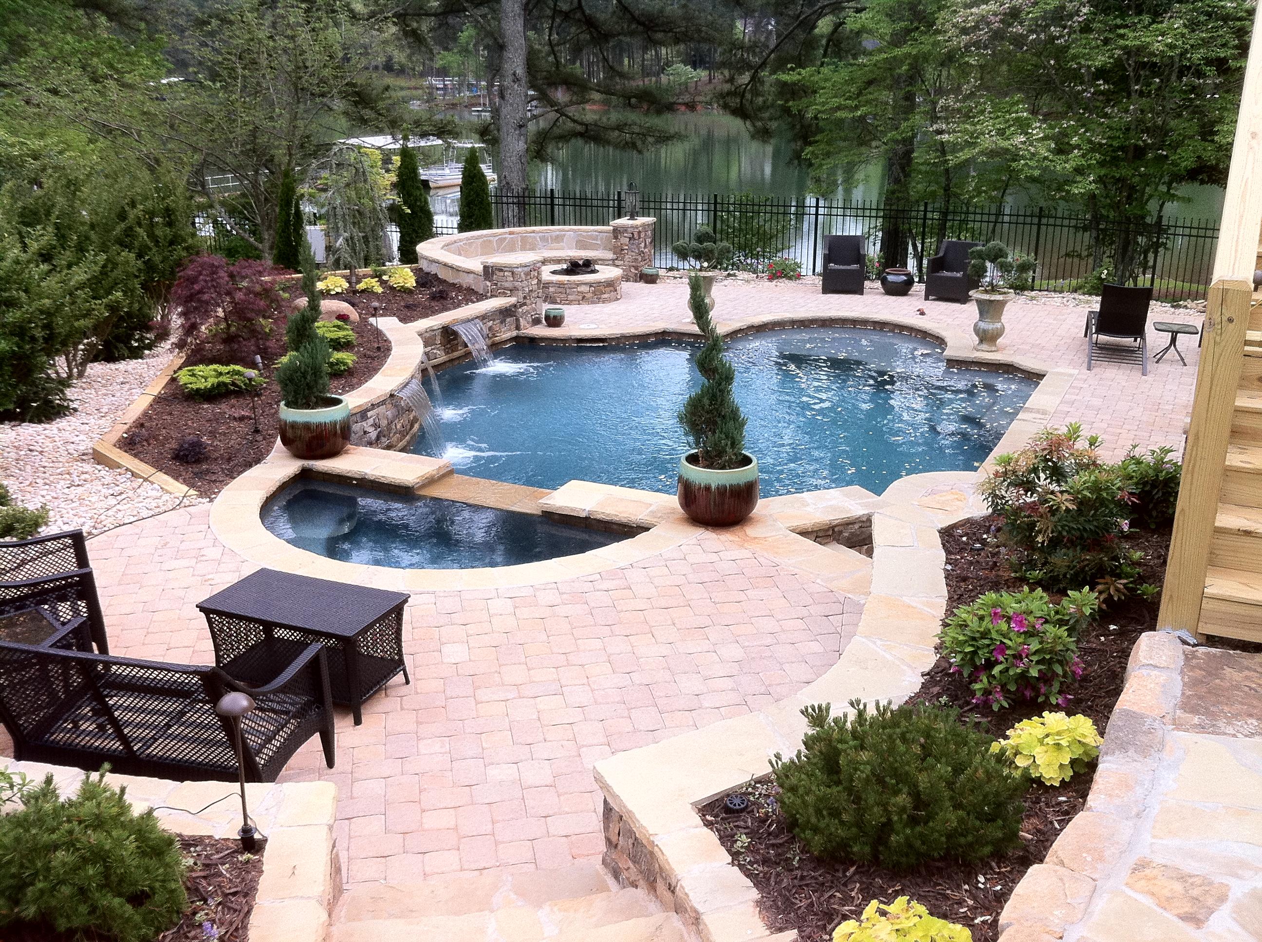 Aqua design pools spas llc coupons near me in cumming for Pool design near me