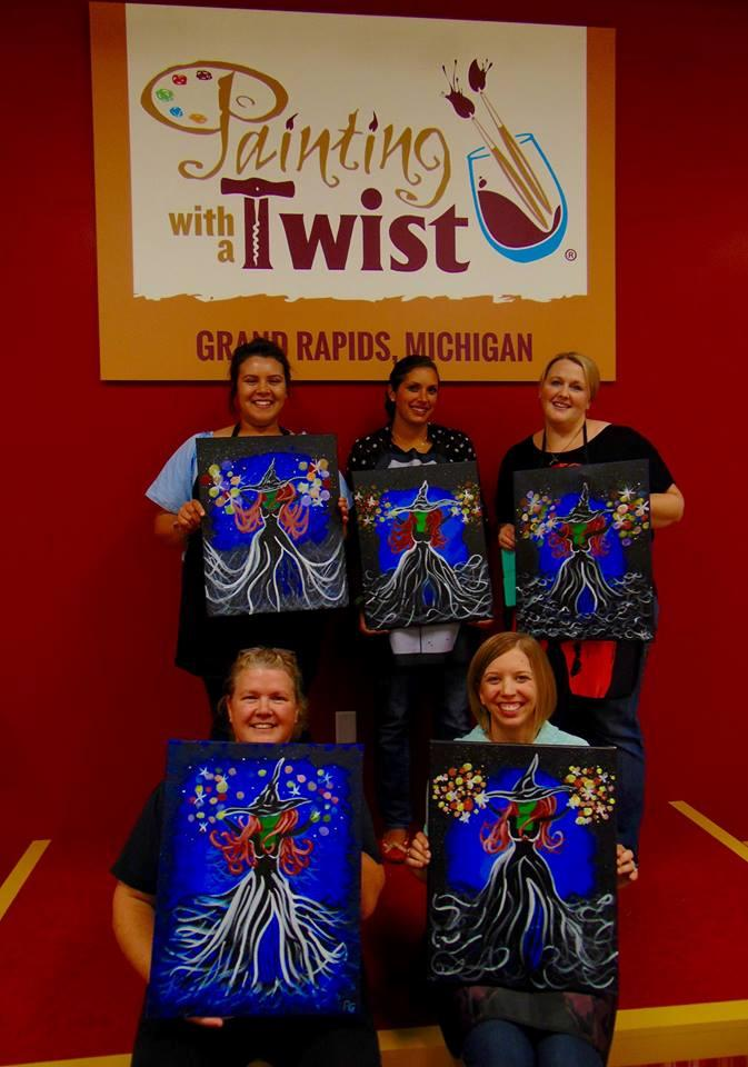 painting with a twist in grand rapids mi 49546