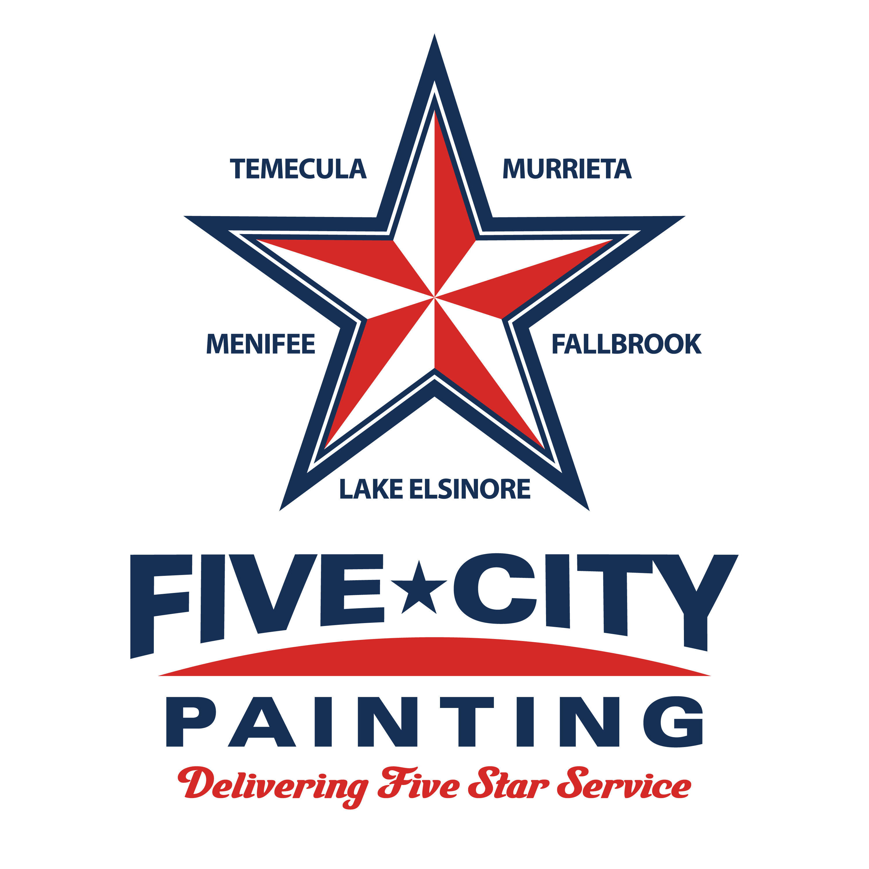 Five City Painting