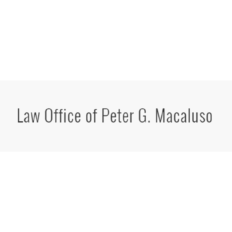 Pete Macaluso Atty at Law