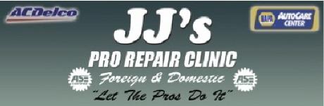 JJ's Pro Repair Clinic