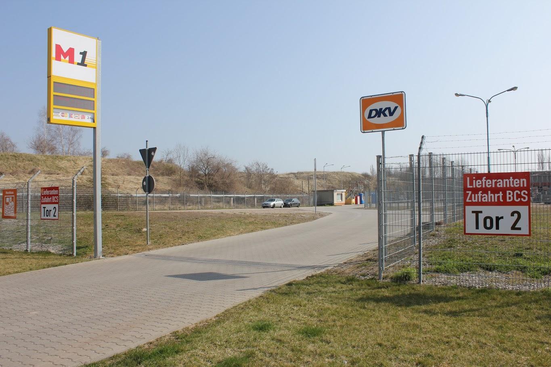 Bild der M1 Staßfurt