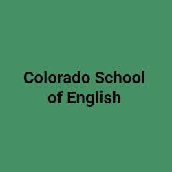 Colorado School of English
