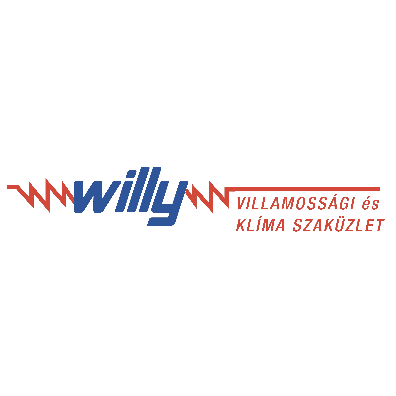 WILLY Villamossági és Klíma Szaküzlet Logo