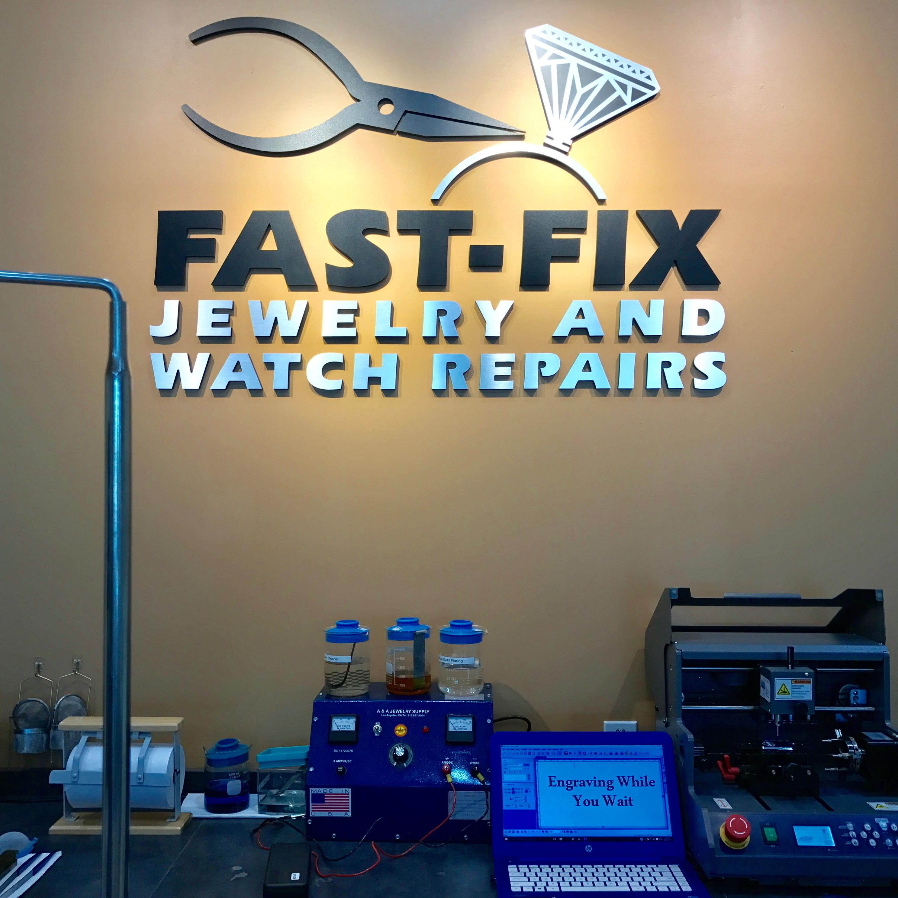 Fast fix jewelry watch repairs irvine irvine for Fast fix jewelry repair