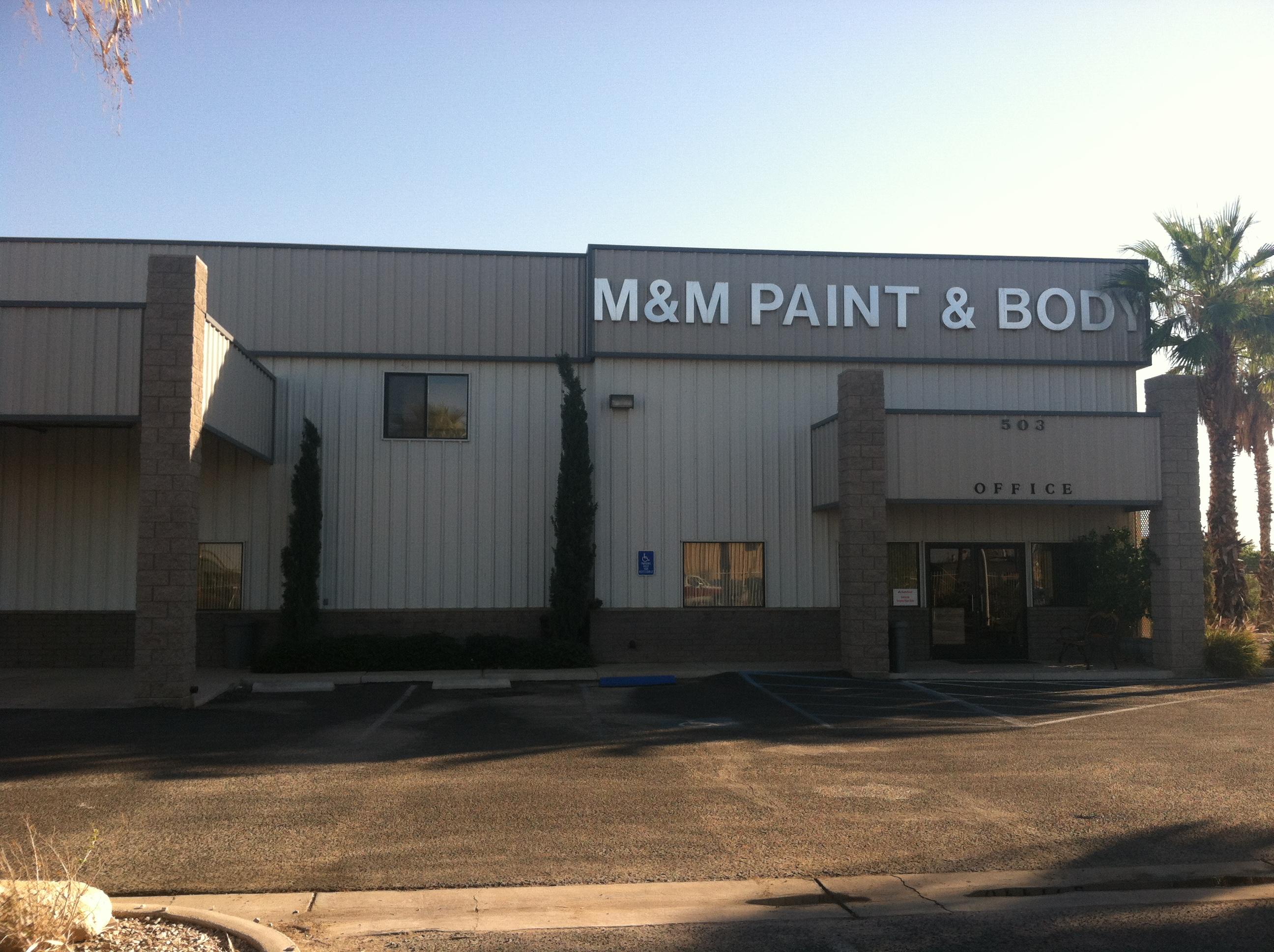 M & M Paint & Body Shop