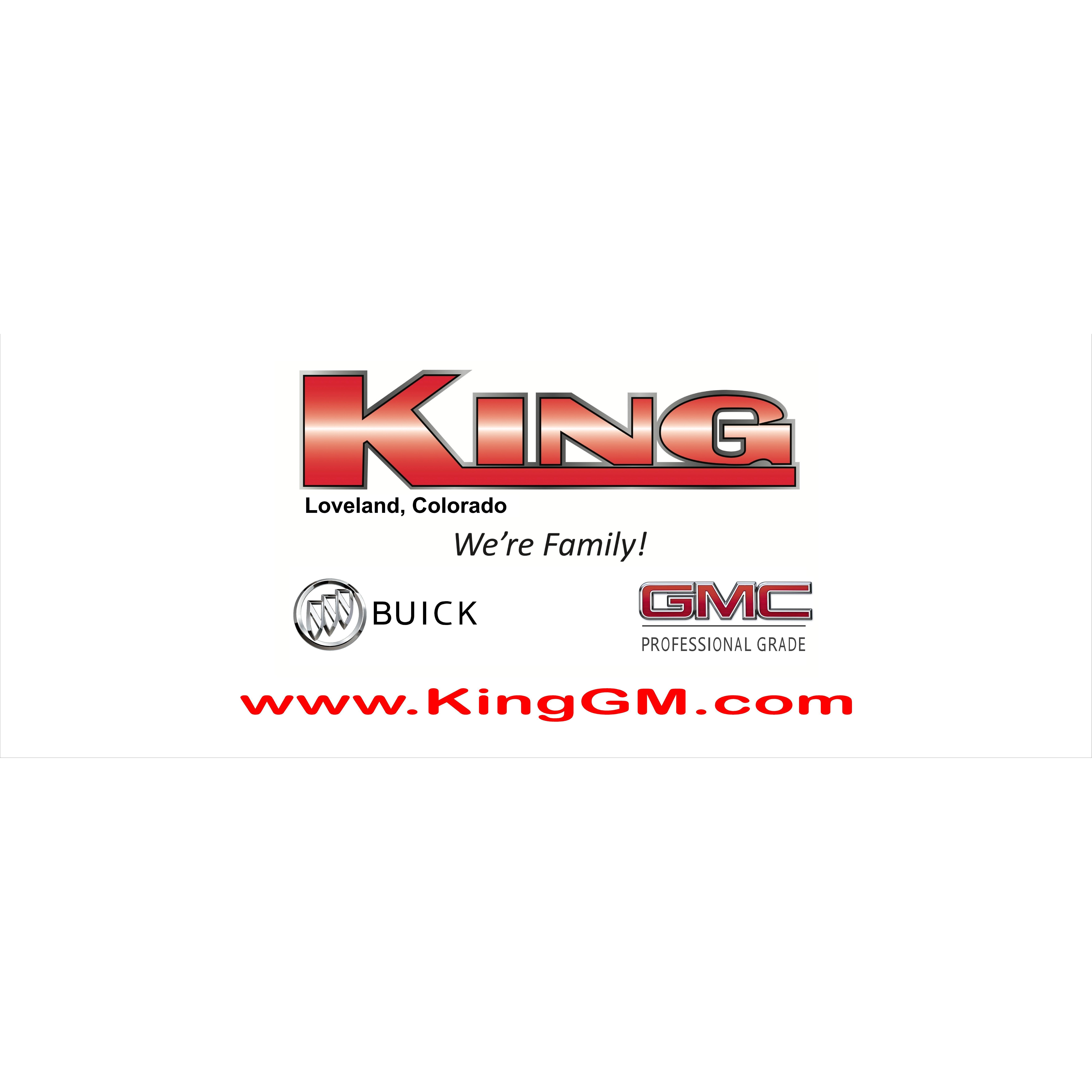 King Buick Gmc In Loveland Co 80538 Chamberofcommerce Com