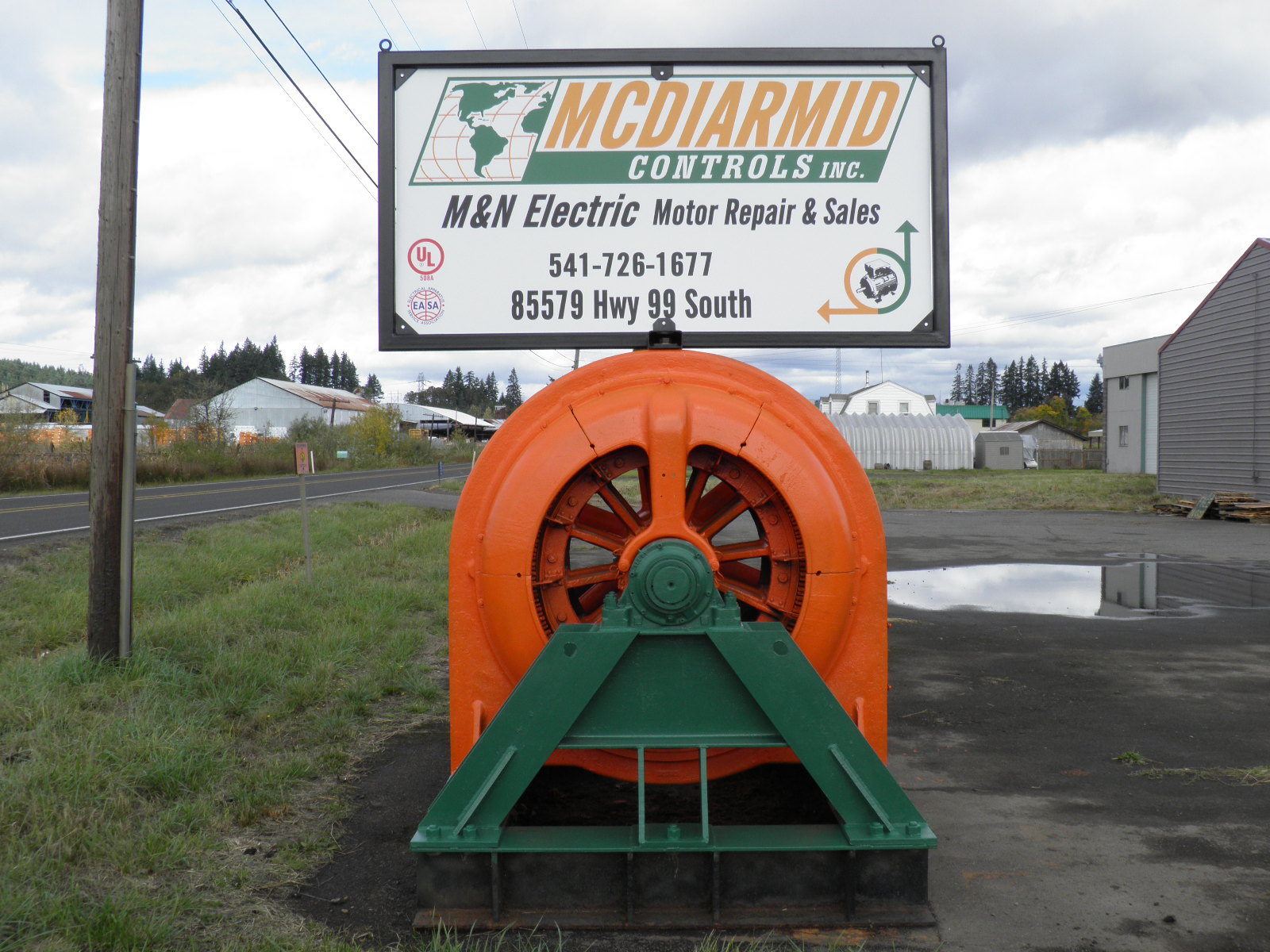 Mcdiarmid Controls Inc In Eugene Or 97405