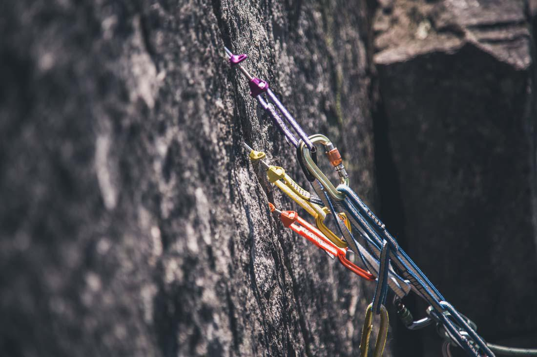 Trad Gear Rock Climbing Anchors Class