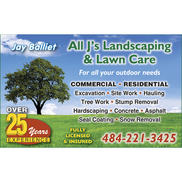 All J's Landscaping & Lawn Care - Walnutport, PA 18088 - (484)221-3425 | ShowMeLocal.com
