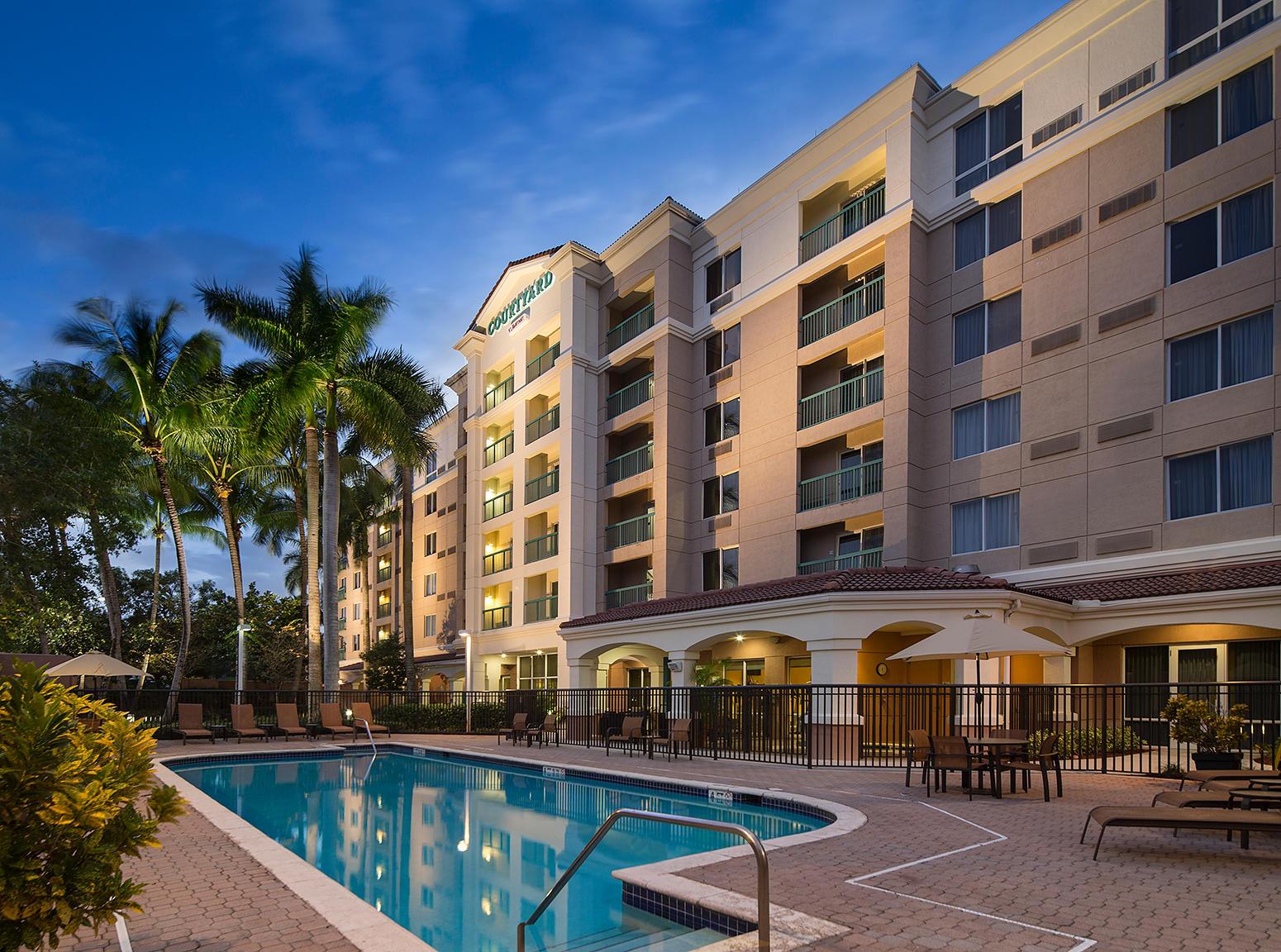Courtyard By Marriott Fort Lauderdale Weston Fort