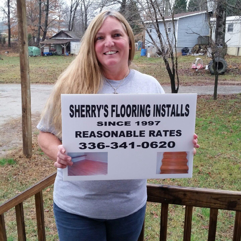 Sherry's Flooring Installs