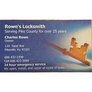 Rowe's Locksmith