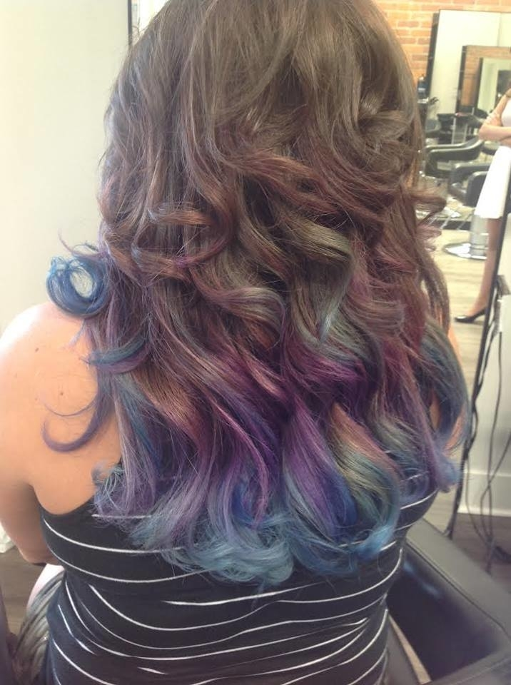 Wispers Hair & Day Spa in Cambridge: Funky Hair Colour