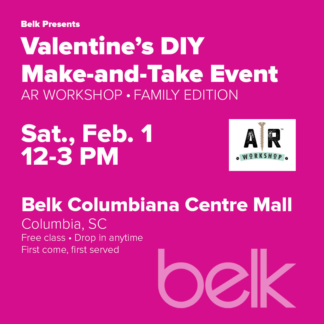 Valentine's DIY Make-and-Take Event with AR Workshop