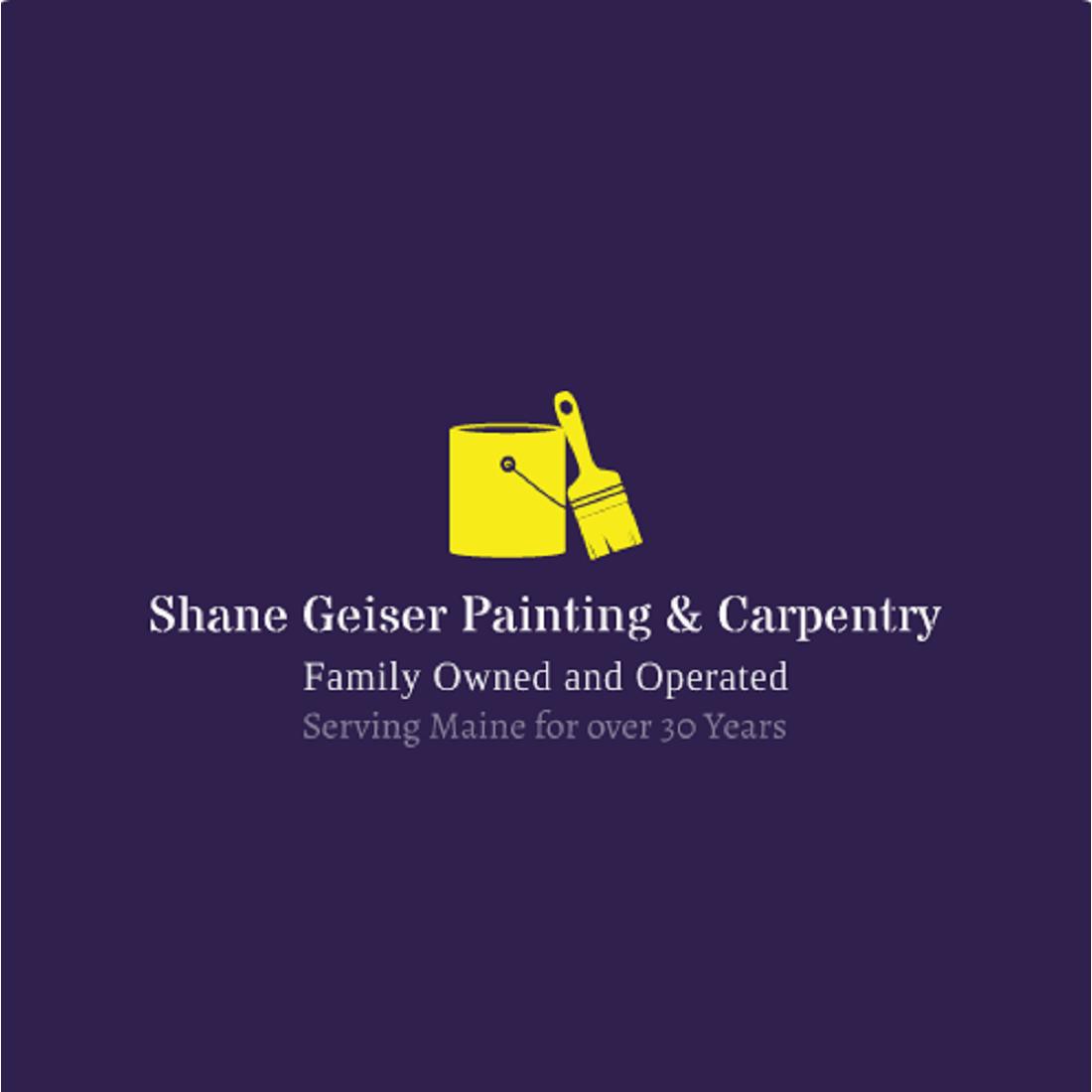 Shane Geiser Painting & Carpentry Logo