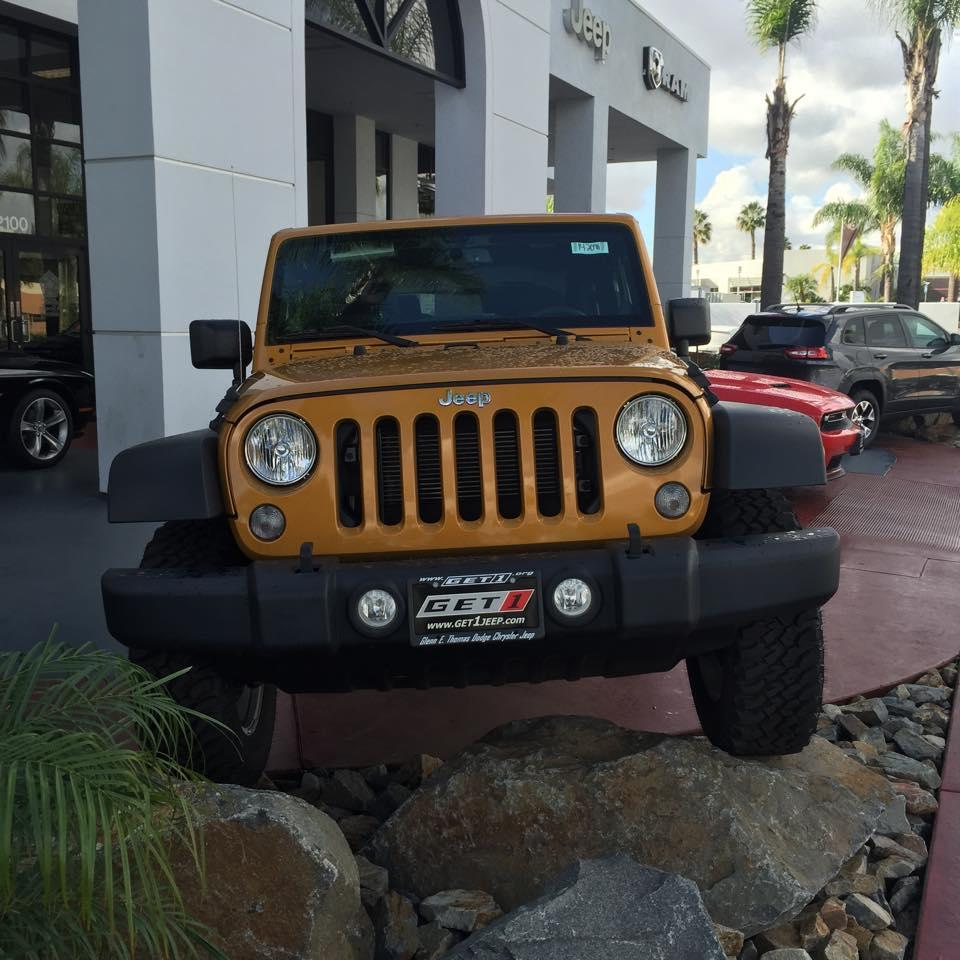 Glenn E Thomas Dodge Chrysler Jeep, Signal Hill California