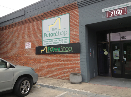the futon shop at 2150 cesar chavez st san francisco ca