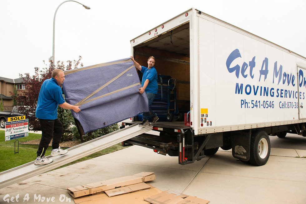 Get A Move On Moving Services in Calgary
