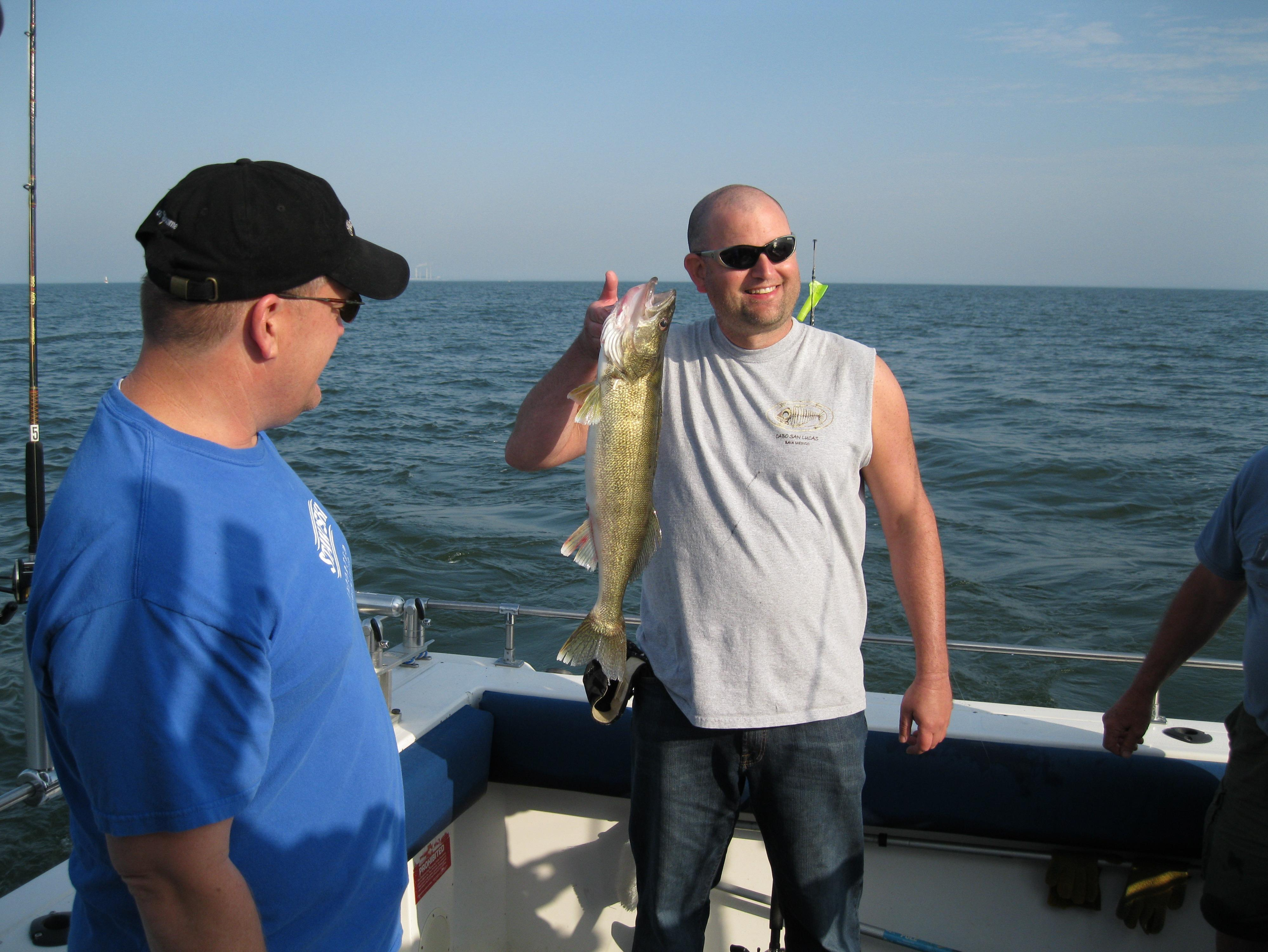 Shamrock fishing charters in curtice oh 43412 for Ohio fishing charters