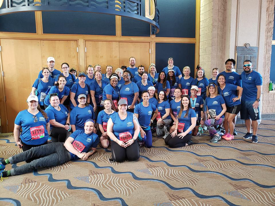 Florida Orthopaedic Institute 'Keeping You Active' Team at the Gasparilla Distance Classic 2019