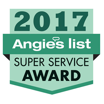 Angie's List Super Service Award for The Lint King Inc. 2017