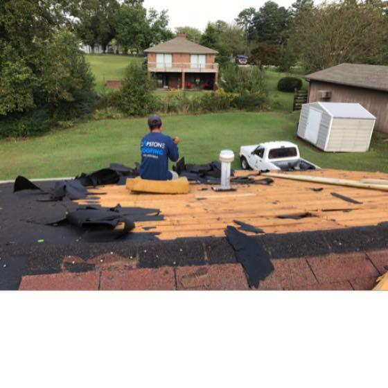 At Capstone Roofing, LLC our team of roofers will remove your shingles to the decking and replace any rotten wood with new boards or sheets of wood. If you are interested in the best roof installation for your home call Capstone and one of our roofing specialist will be glad to meet you and discuss the details with you.