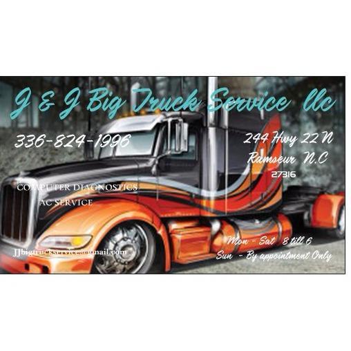 J & J Big Truck Service Llc