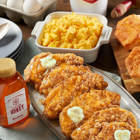 Honey Butter Chicken & Biscuit Breakfast Family Meal To Go