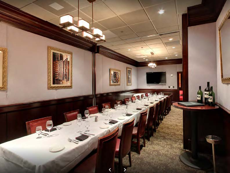 Del Frisco's Double Eagle Steakhouse Philadelphia Double Eagle 1 private dining room