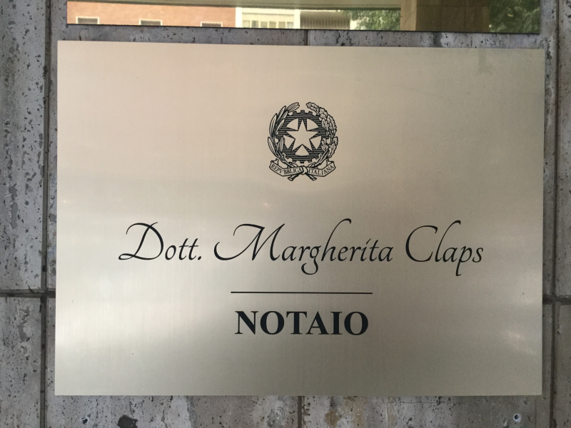 Notaio Margherita Claps