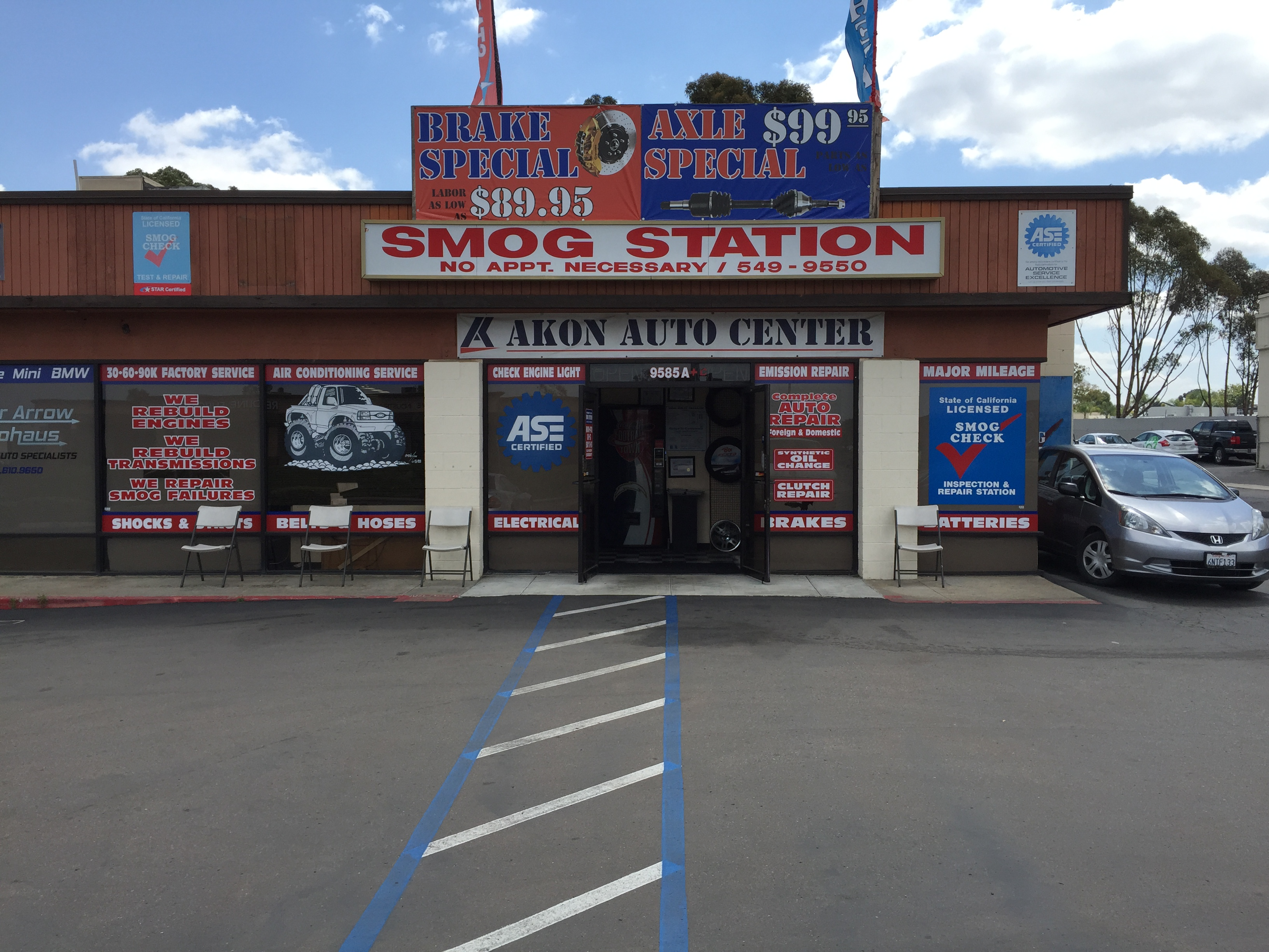 akon auto center coupons near me in san diego 8coupons. Black Bedroom Furniture Sets. Home Design Ideas