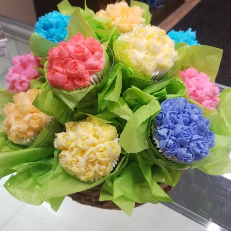 Our Original Cupcake Flower Bouquets Sweet Indulgence Curbside Depew (716)444-8802
