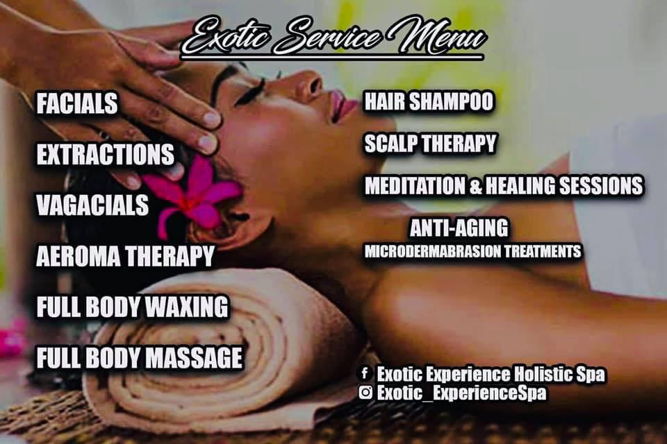 Exotic Experience Holistic Mobile Spa