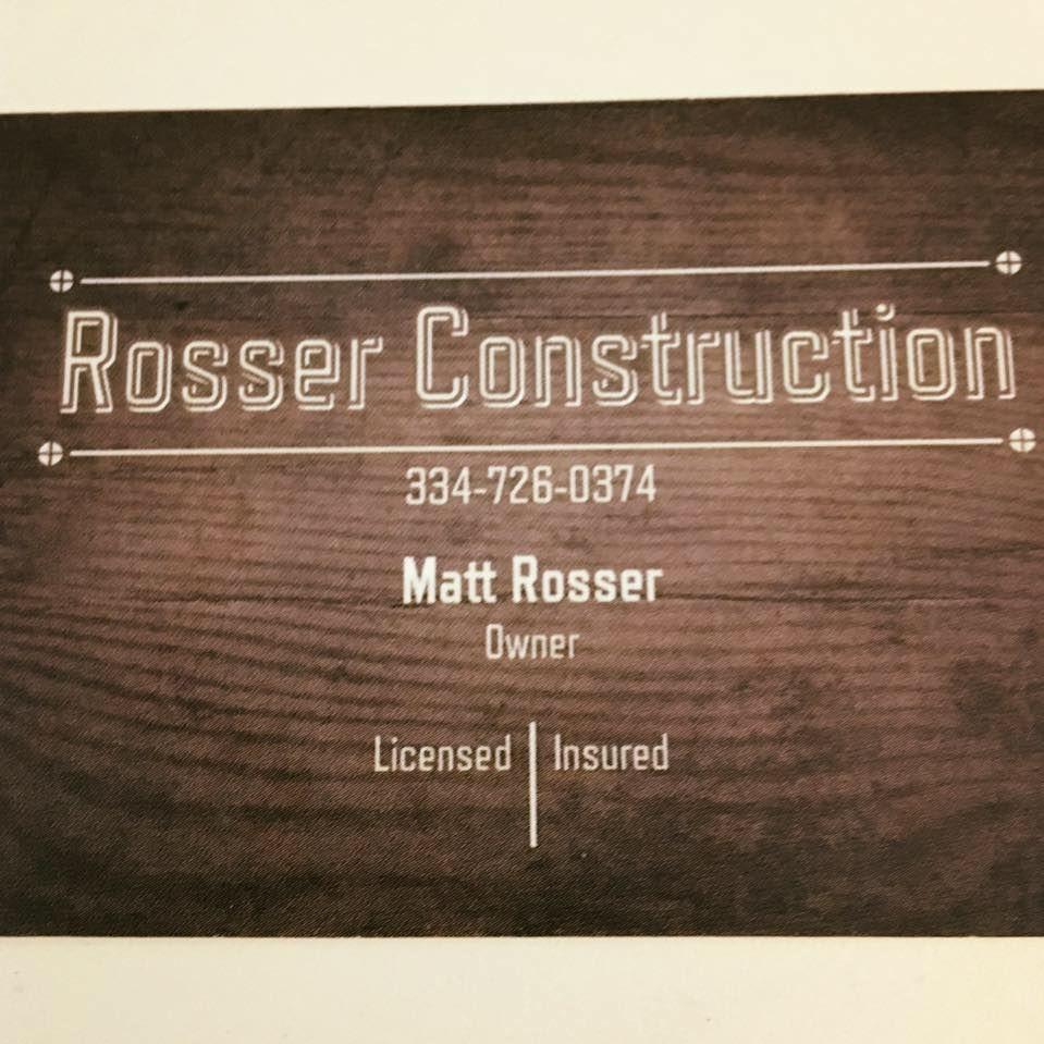 Rosser Construction
