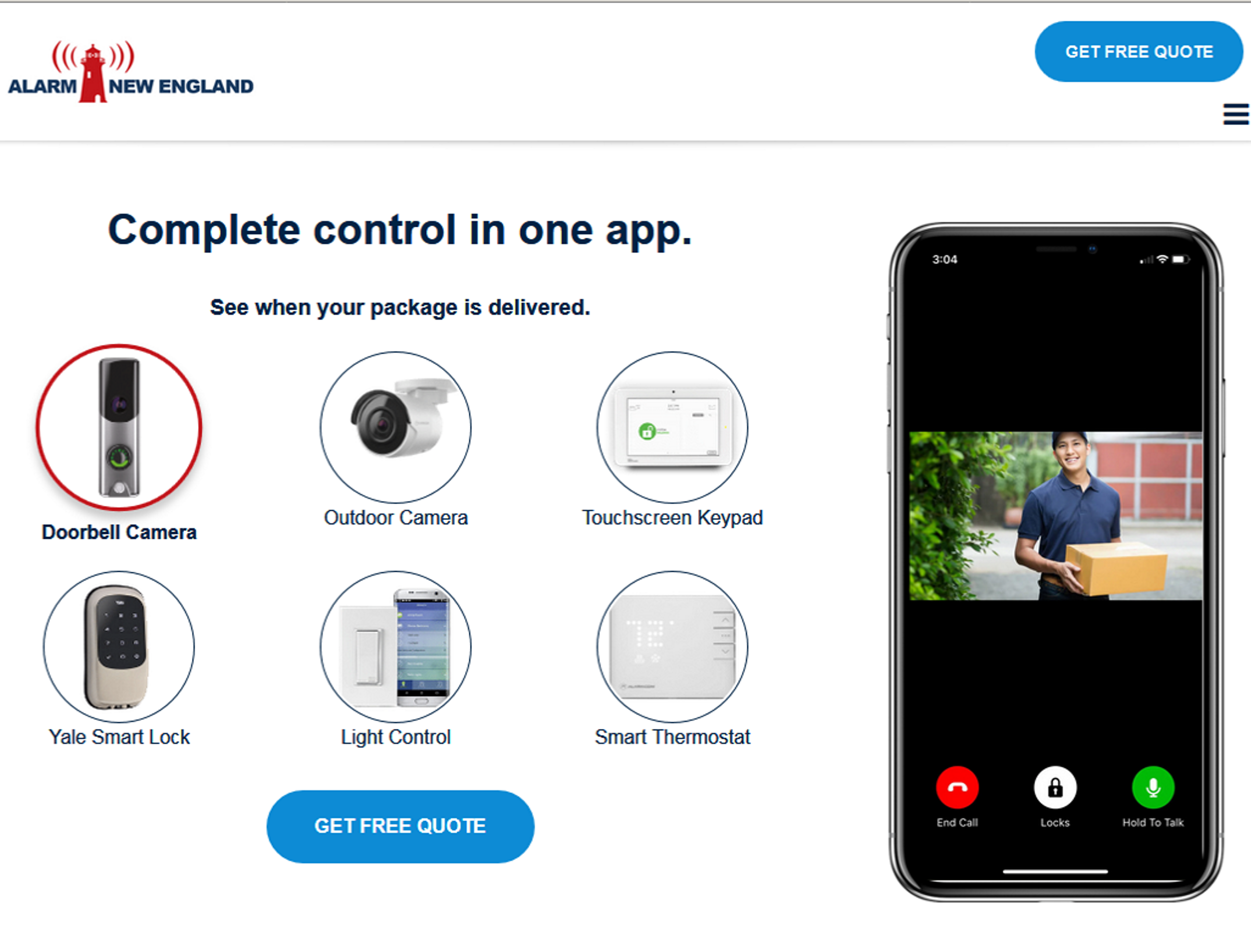 Home Security automation control  in North shore / Newburyport ma