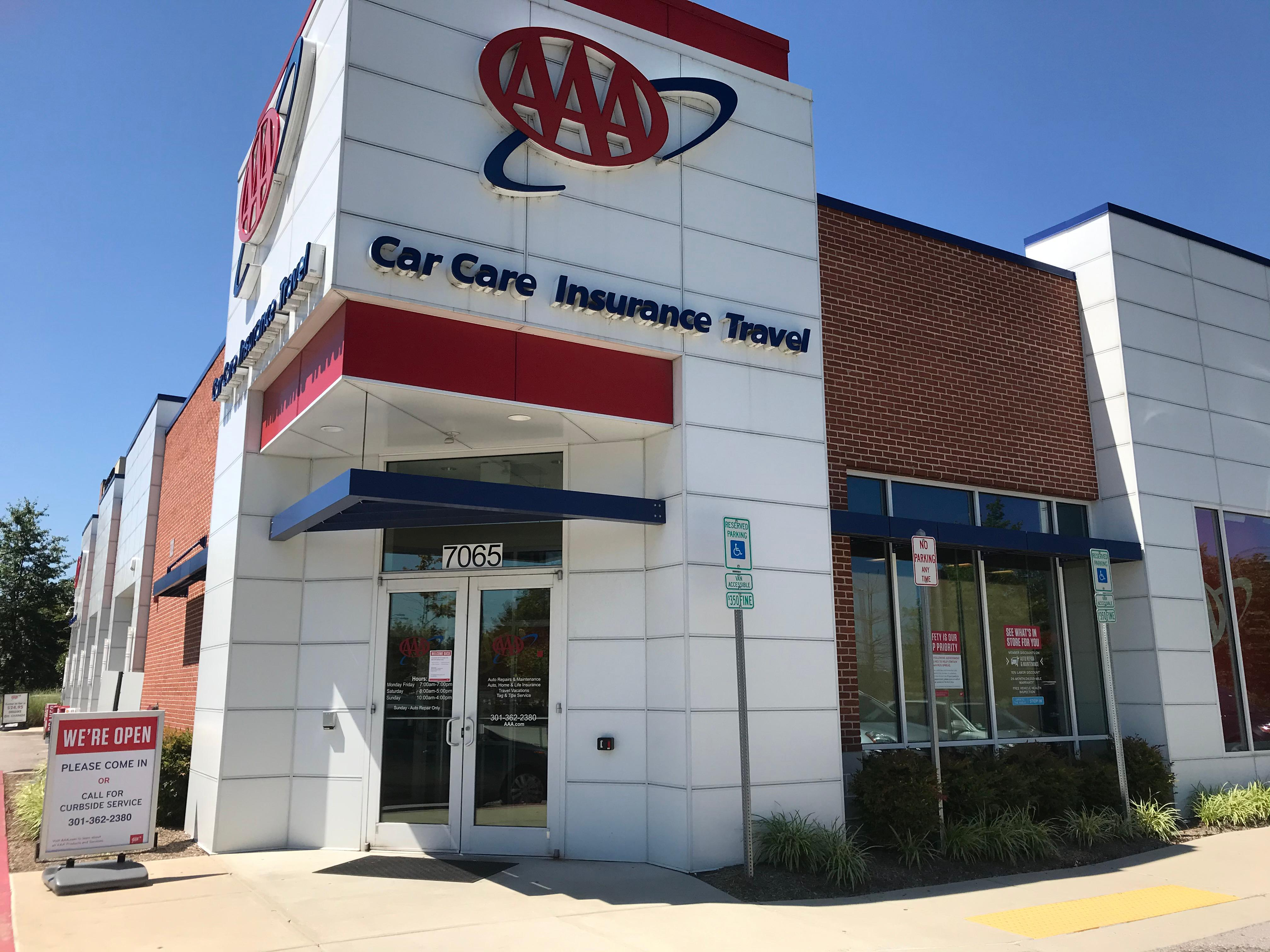 Aaa Columbia Car Care Insurance Travel Center 7065 Minstrel Way Columbia Md General Merchandise Retail Mapquest