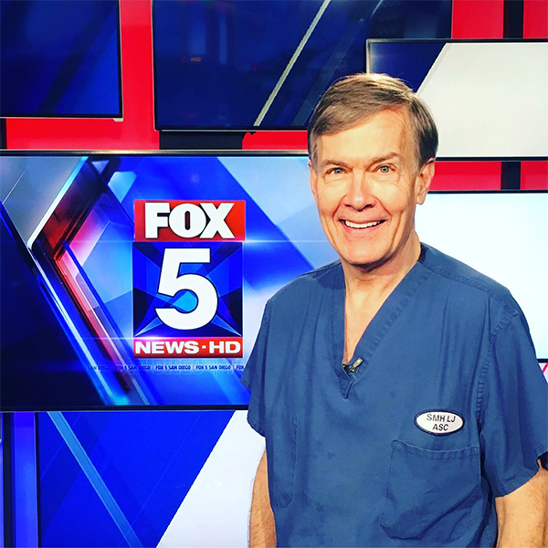 Our hair loss specialist and director of San Diego MD, has frequently appeared on television and in magazine placements to discuss the latest medical advancements in hair restoration, plastic surgery, and other related topics.