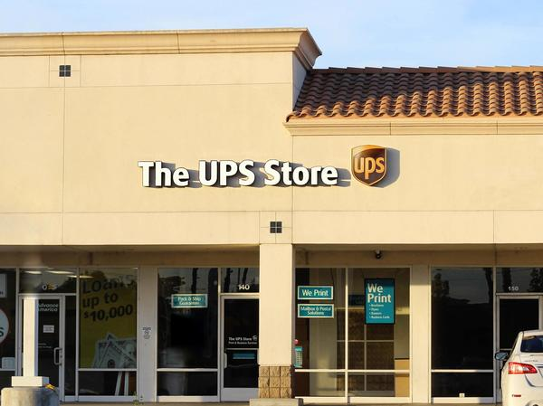 Exterior storefront image of The UPS Store #1745 in Hemet, CA