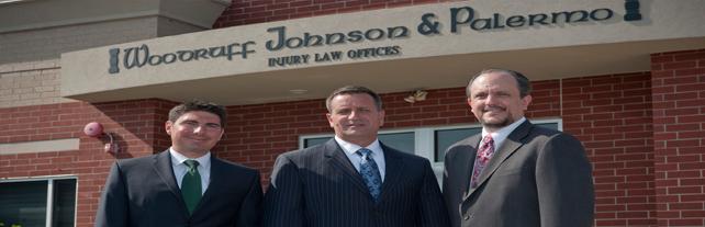 Woodruff Johnson & Palermo, Injury Law Offices - ad image