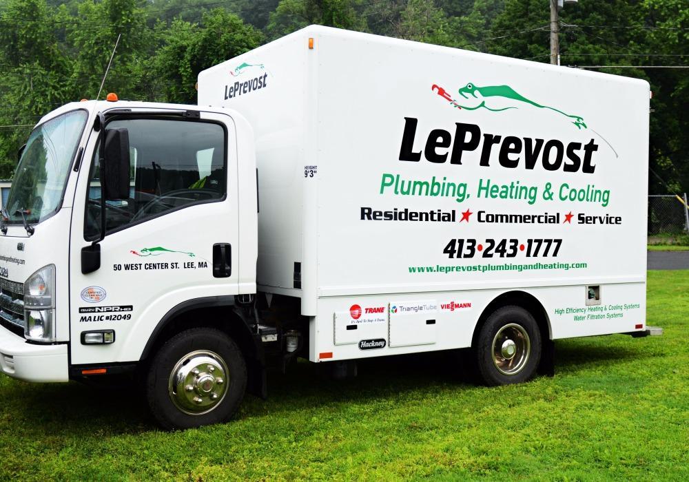 Le prevost plumbing heating cooling lee massachusetts