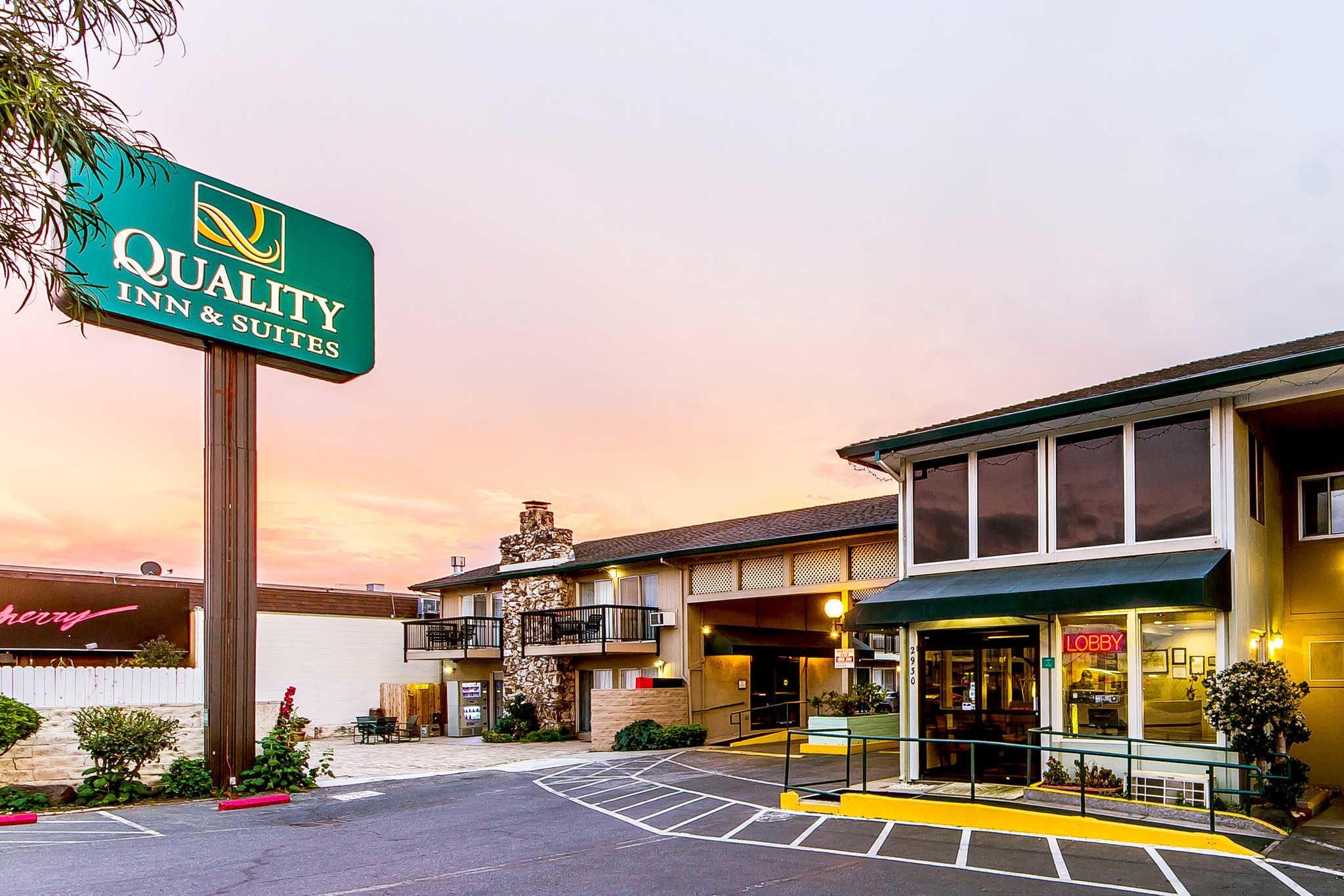 Quality Inn Amp Suites Silicon Valley In Santa Clara Ca