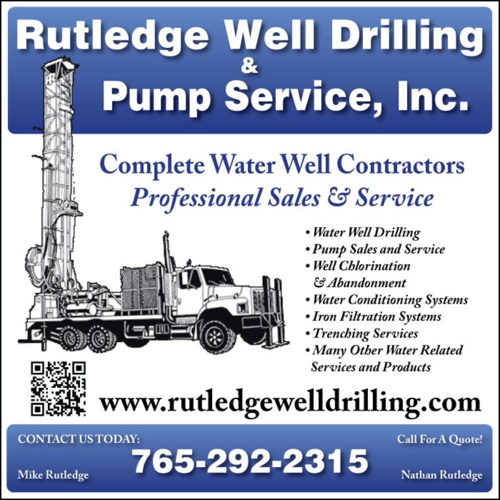 Rutledge Well Drilling & Pump Service Inc.