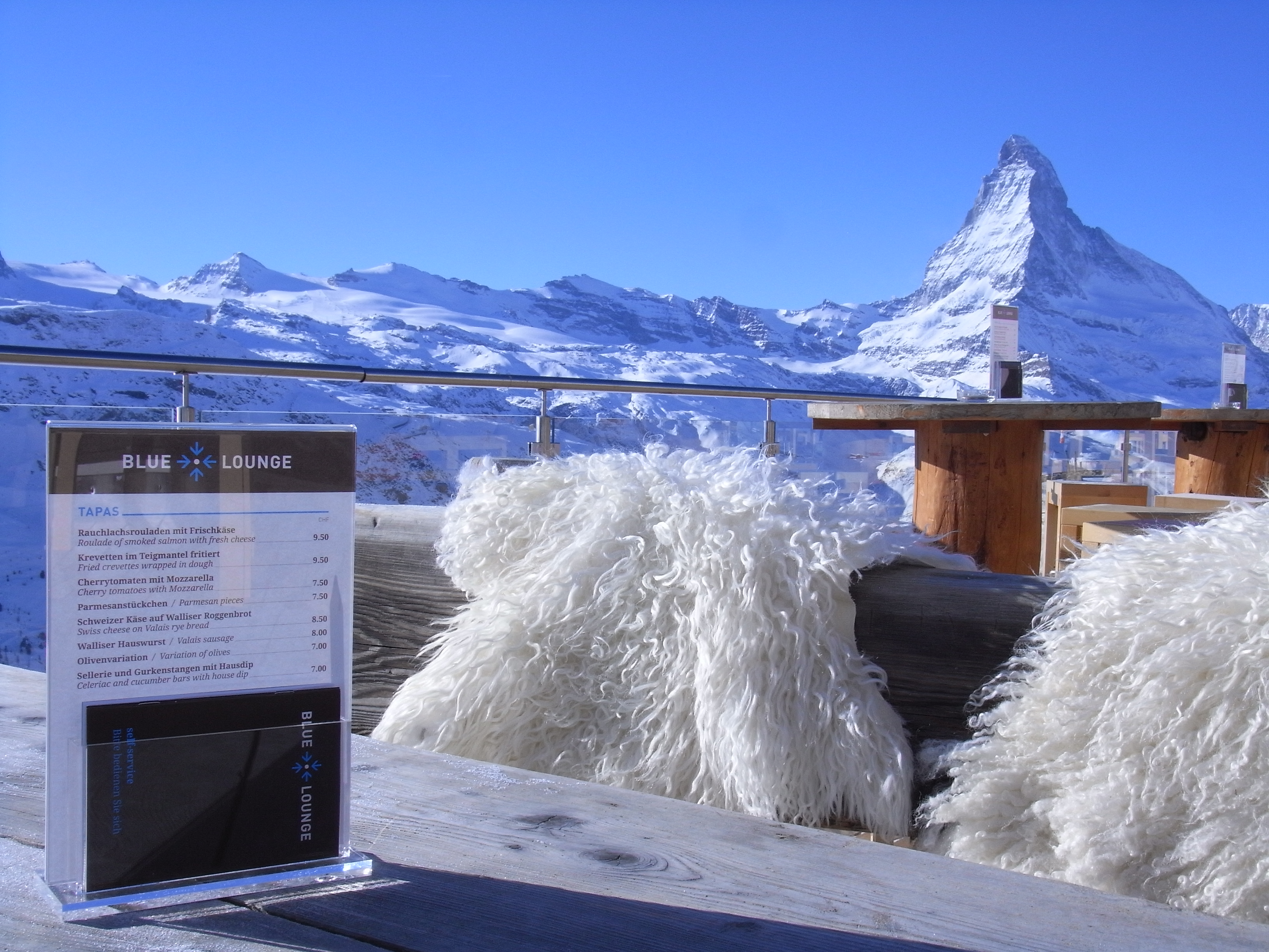 Blue Lounge - Zermatt