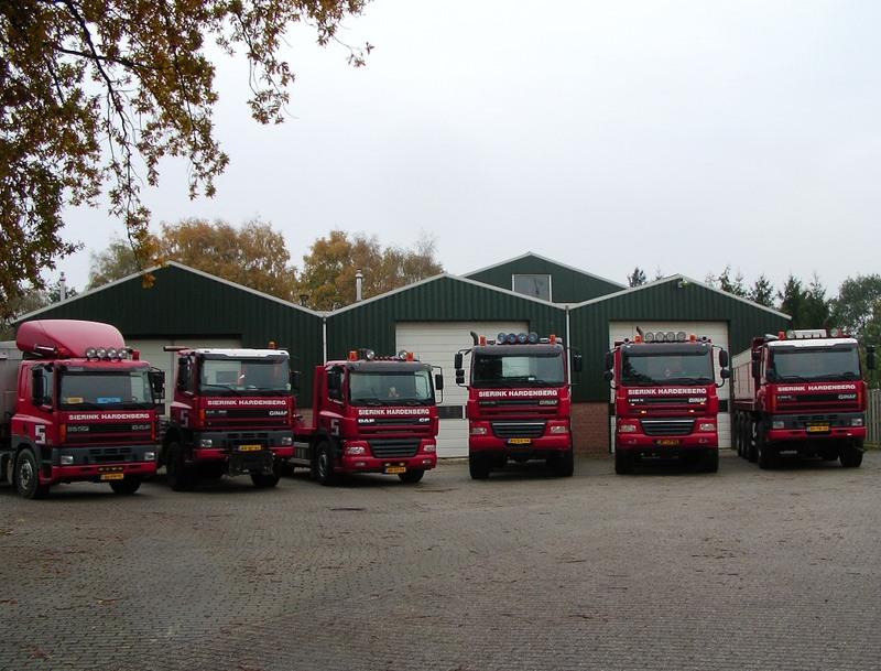 Sierink & Zn Transportbedrijf Container Vervoer Zandhandel