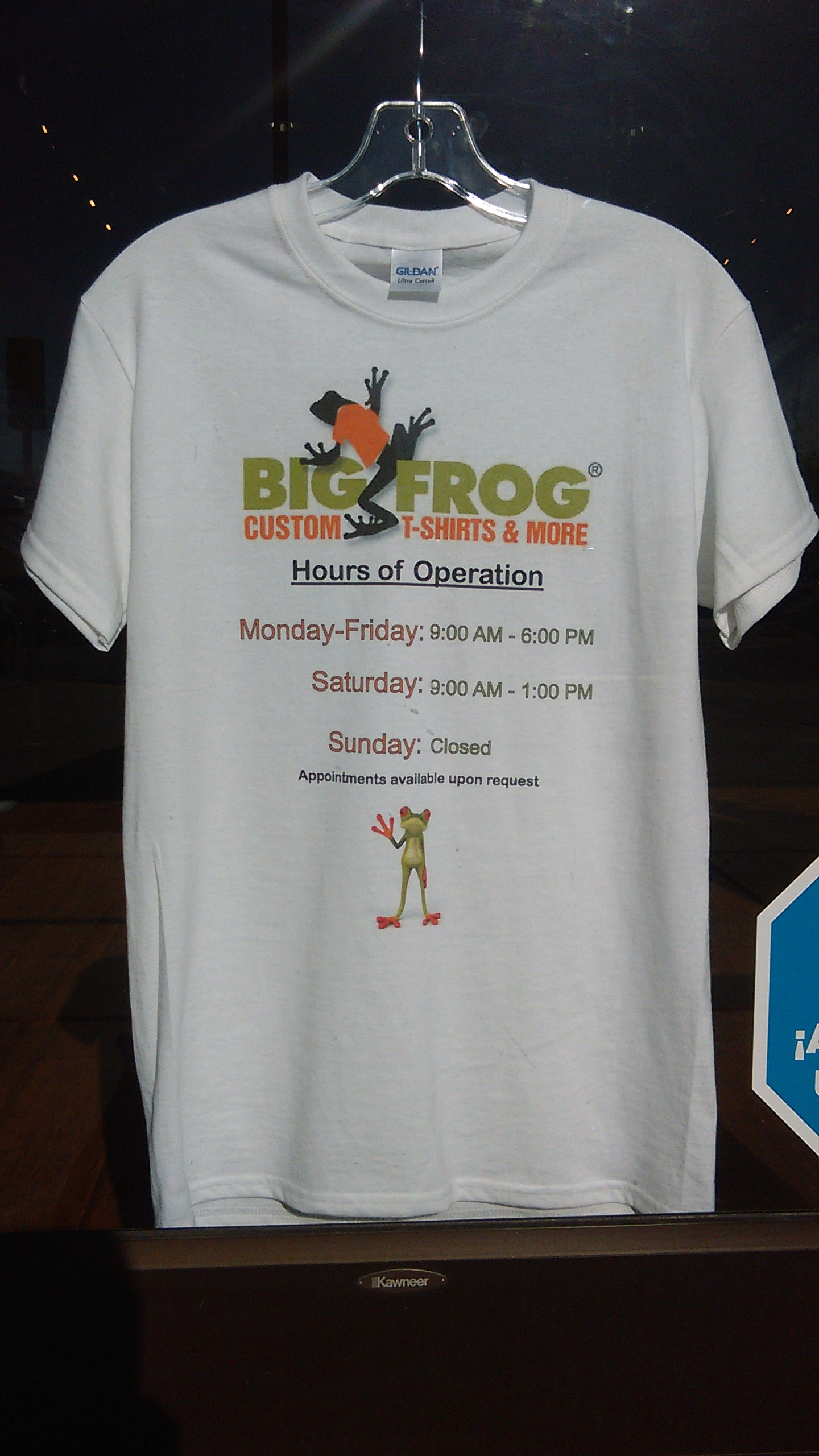 big frog custom t shirts more in aurora co 80015