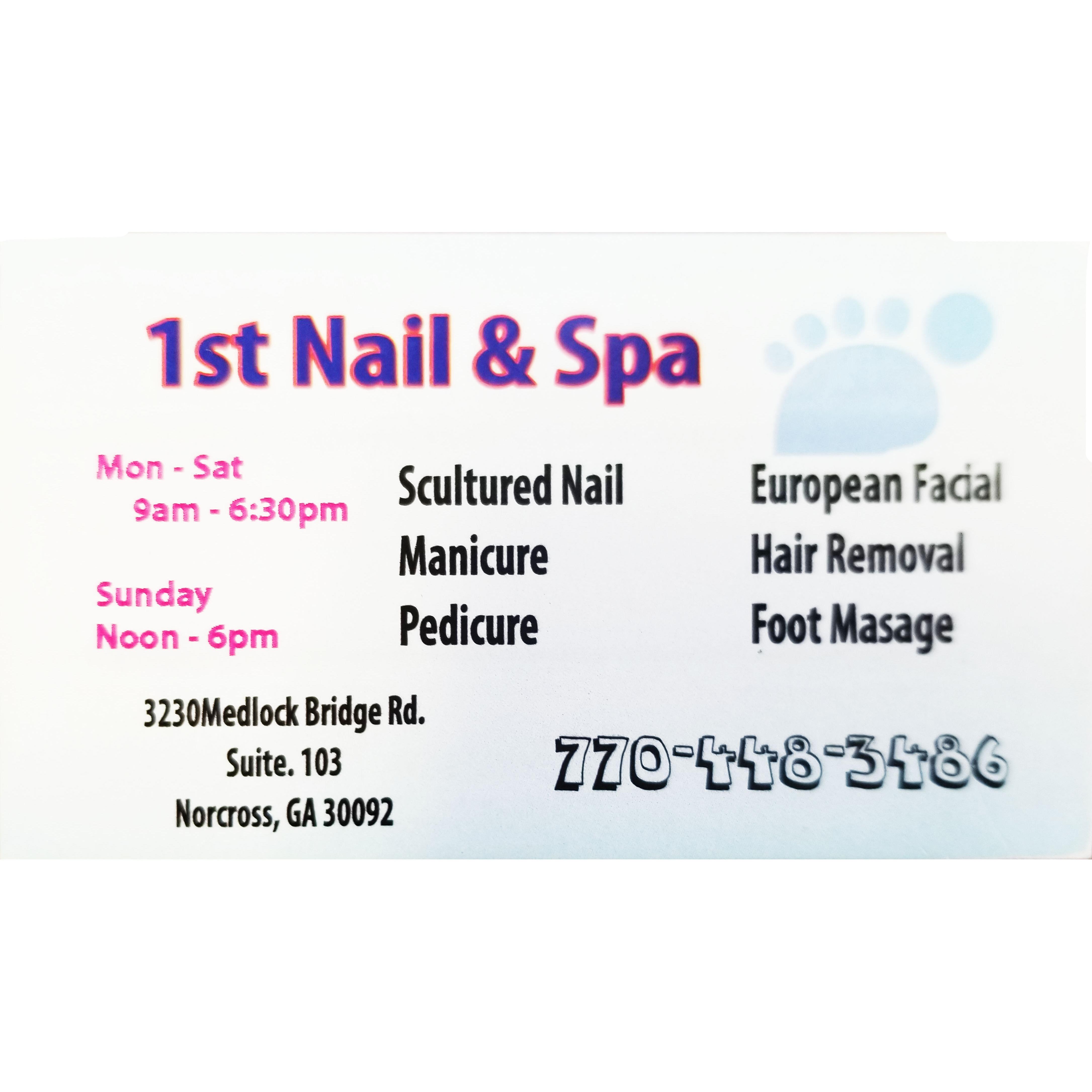 1st Nail & Spa