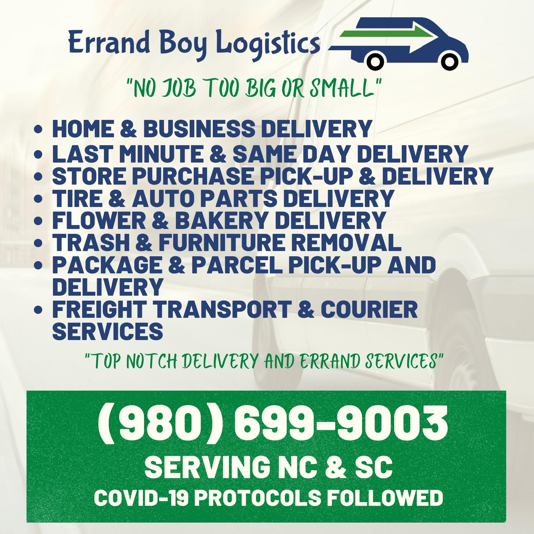 Errand Boy Logistics