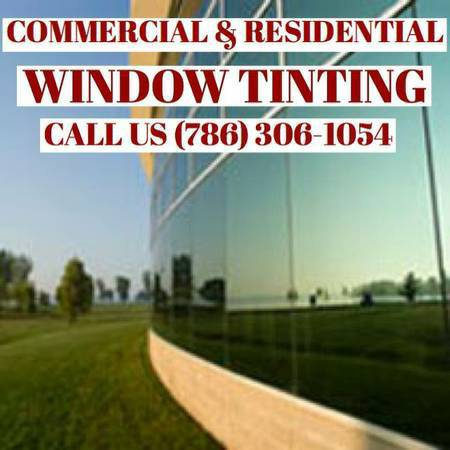 Miami best window tinting for cars,houses,boats and buildings